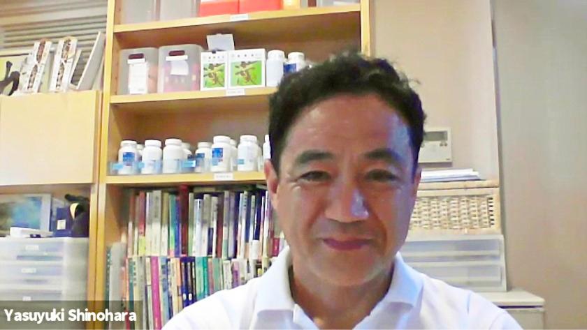 有限会社エッセンチア代表取締役/薬剤師・調香師の篠原康幸さん