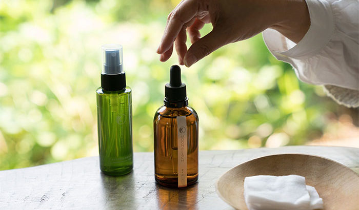 ムーンピーチは「自然とつながり、自然に生きる」を実感できる化粧品