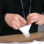 竹布(TAKEFU)布ナプキン 使い方・折り方