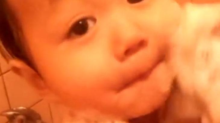 【お客様投稿】竹布(TAKEFU)で赤ちゃんをあらってみた