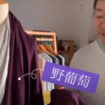 2020TAKEFU秋の新色「野葡萄」~開発者相田さんにインタビュー~