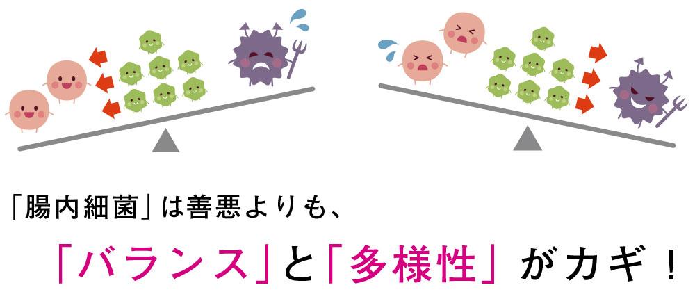 腸内細菌は善悪よりも「バランス」と「多様性」がカギ!